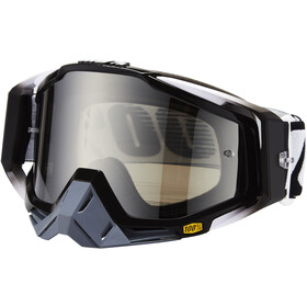 100% Racecraft Anti Fog Mirror Goggles, abyss black